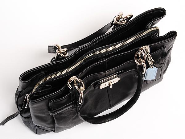 コーチ ハンドバッグ 17811ブラック