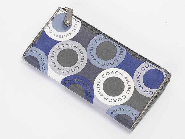 コーチ スナップヘッドプリント財布