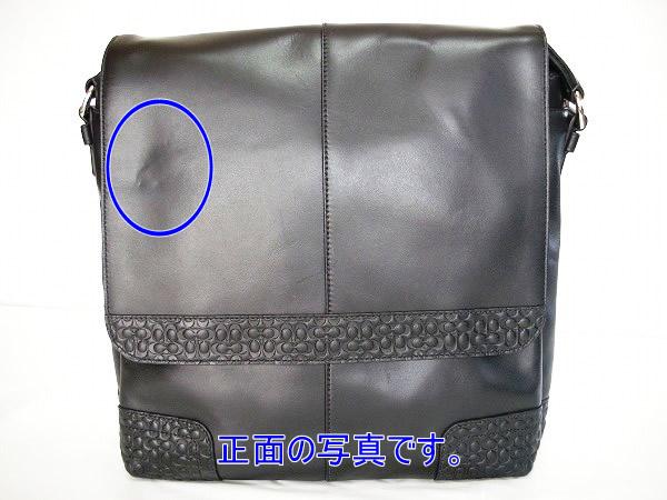 ad2a0f0782fa コーチ メンズバッグ【訳あり品】COACH 74386 SVBK グラマシー レザー ...