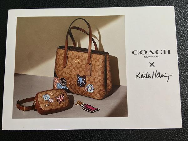 コーチ×キース・ヘリング カード