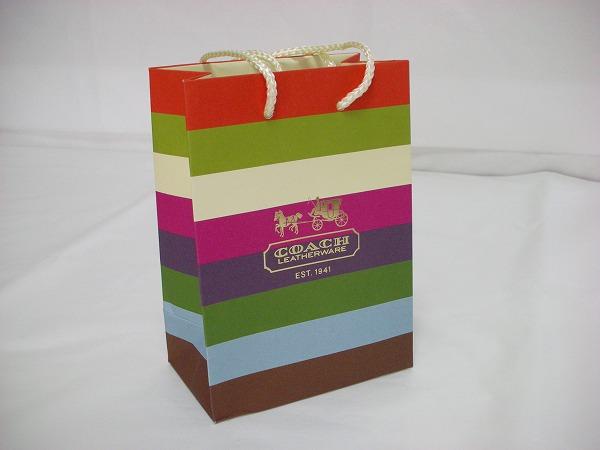 レガシーストライプの紙袋