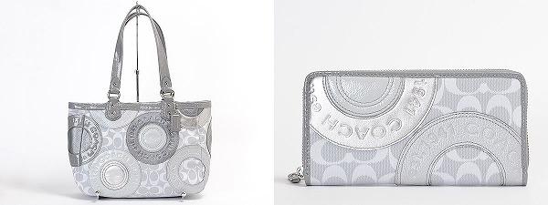 スナップヘッド・パッチワークのバッグと財布