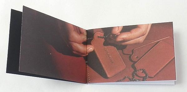 COACH 1941 冊子 ハングタグの写真