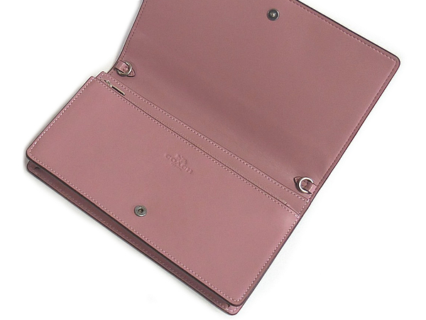 コーチ 斜めがけ財布バッグ12047ピンク 内装
