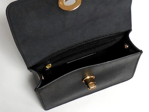 コーチ 斜めがけバッグF31387黒 内装