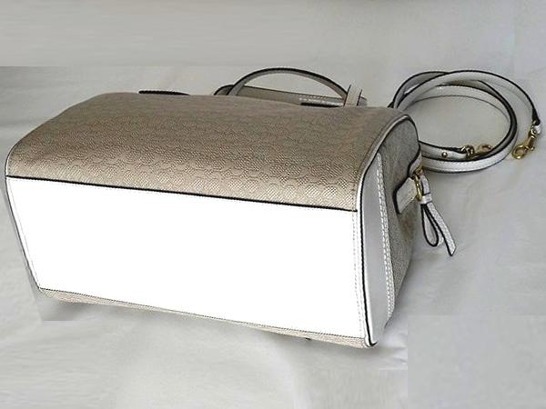 25047アイボリーハンドバッグ