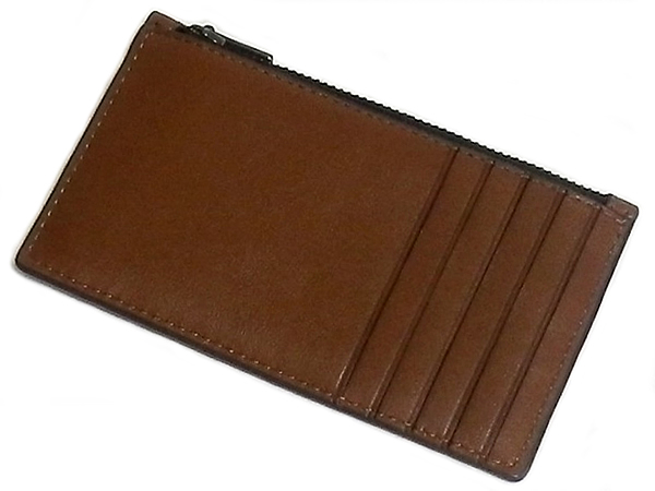 コーチ カードケース38144サドル カード入れ