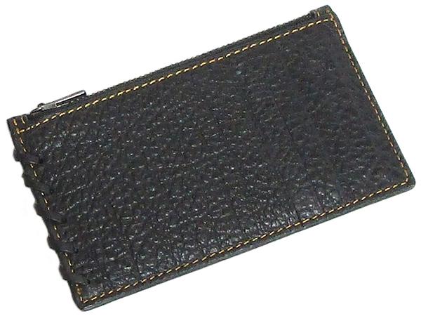 コーチ メンズ カードケース59285黒 背面