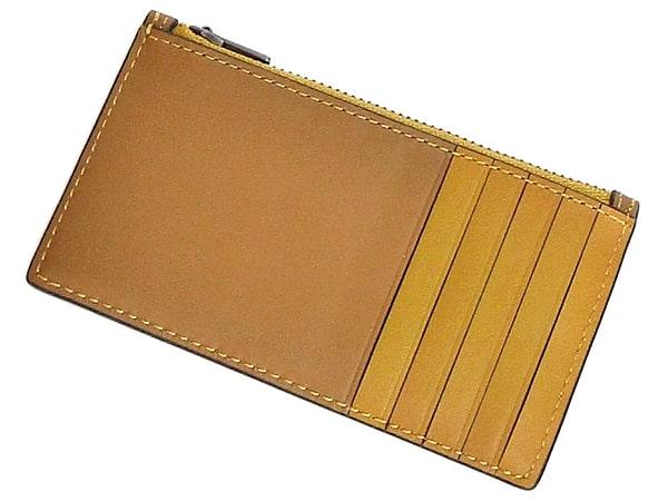 コーチ カードケース91697からしキツネ