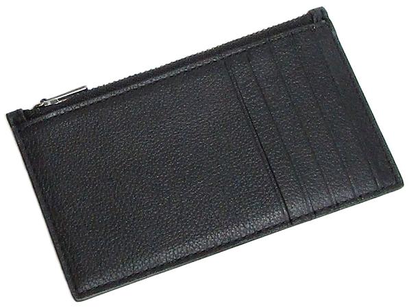 コーチ メンズ カードケースF29272黒 背面