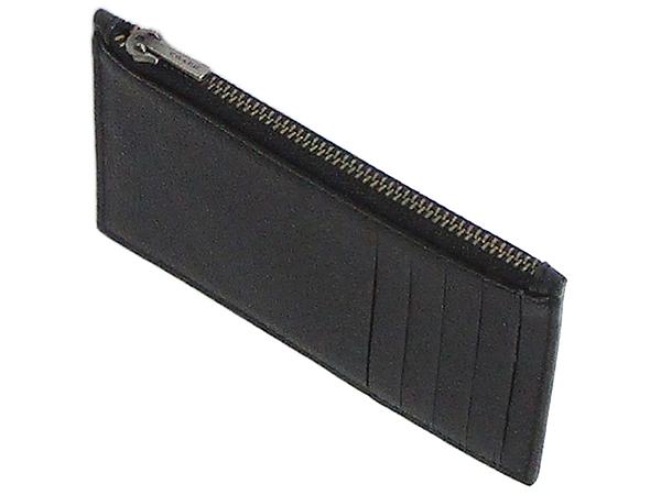 コーチ メンズ カードケースF29272黒 天面