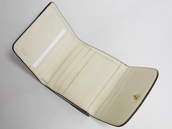 コーチ コンパクト財布F53837白 カード入れ