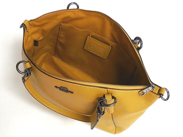 コーチ ハンドバッグF28993黄色 内装