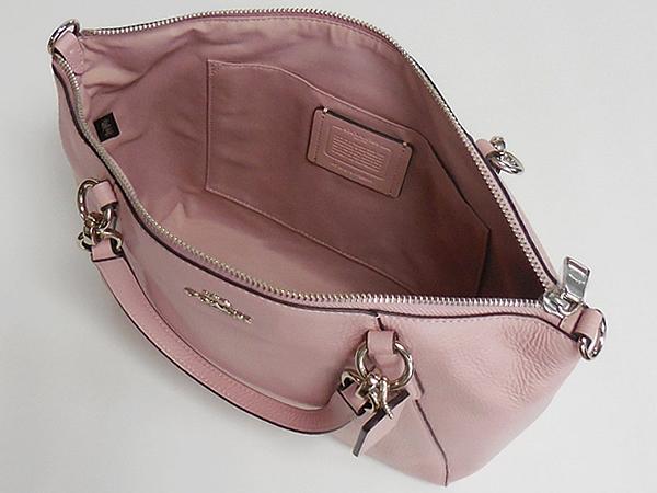 コーチ ハンドバッグF28993淡いピンク 内装