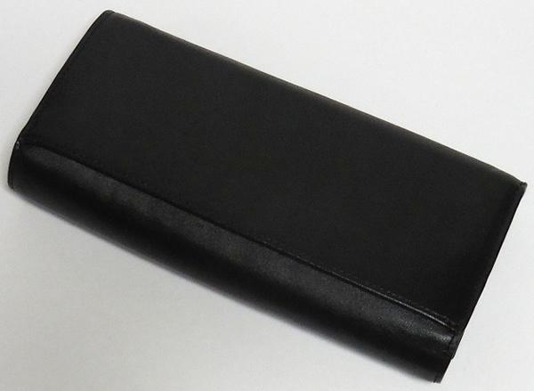 コーチ 長財布53722黒 背面