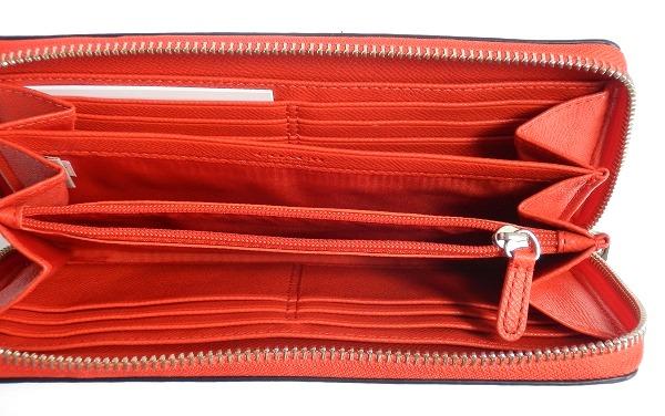 長財布F52563赤白