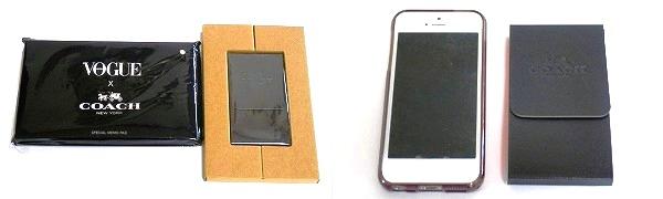 COACHメモとiPhone5