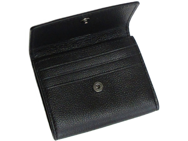 コーチ 財布 小銭入れF75024黒 カードポケット