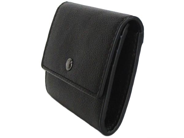 コーチ 財布 小銭入れF75024黒 側面