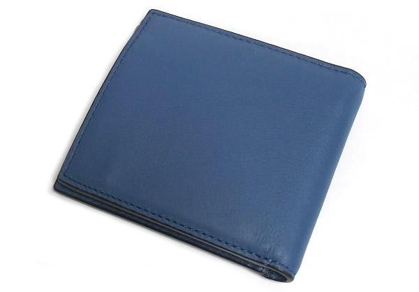 new concept c10d5 93d2f 【COACH】コーチ メンズ財布 アウトレット F75003 SLA スポーツ カーフレザー コイン ウォレット 二つ折り財布 小銭入れ付き 青