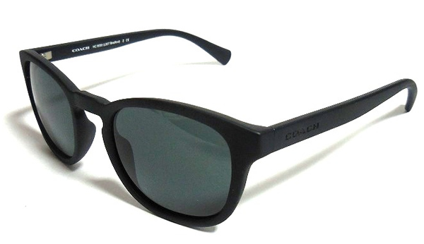 コーチ メンズ サングラスL807黒 側面
