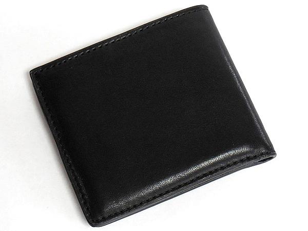 コーチ メンズ二つ折り財布26058黒 背面
