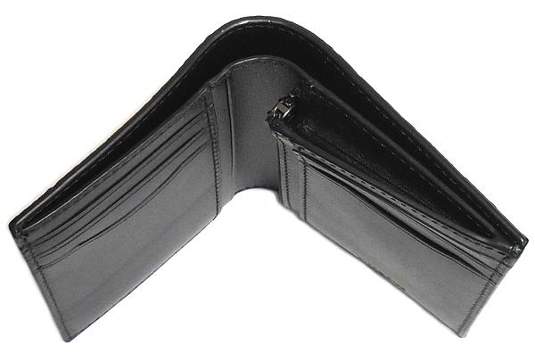 コーチ メンズ 二つ折り財布F11970黒 札入れ