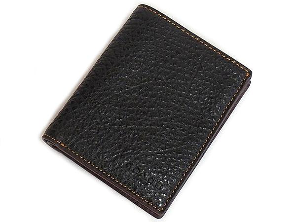 コーチ メンズ 二つ折り財布F11989黒 前面