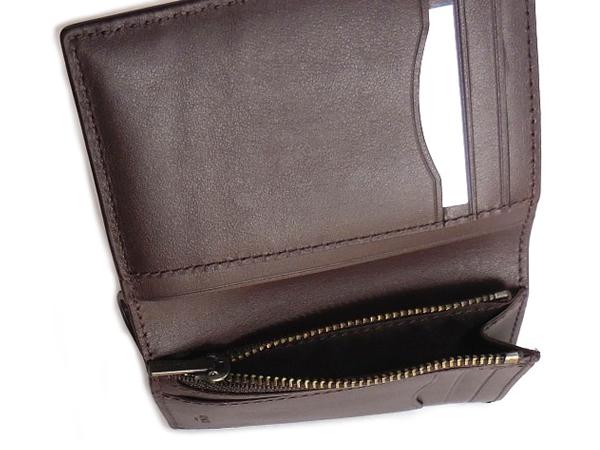 コーチ メンズ 二つ折り財布F11989黒 小銭入れ
