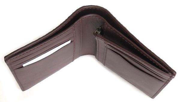 コーチ メンズ 二つ折り財布F11989黒 札入れ