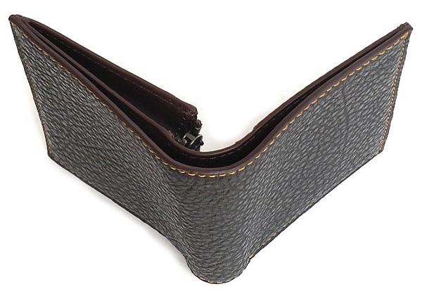 コーチ メンズ 二つ折り財布F11989黒 外装