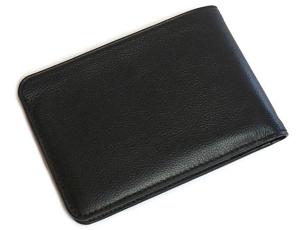 コーチ メンズ 二つ折り財布F24749黒 背面
