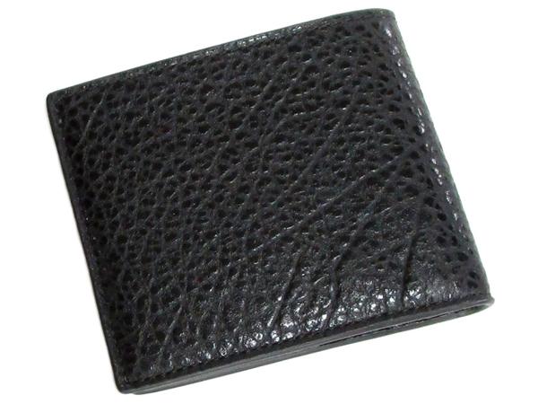 コーチ メンズ二つ折り財布F67654黒 背面