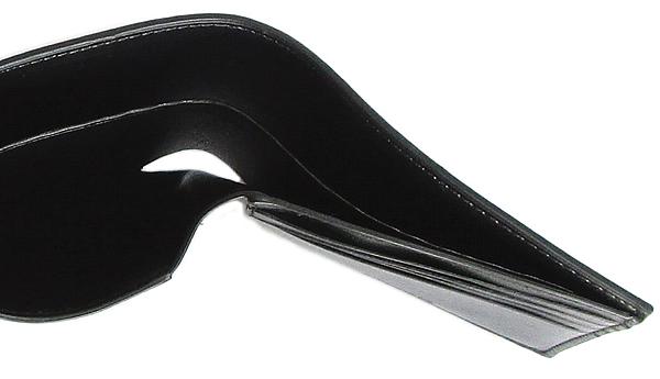 コーチ メンズ 二つ折り財布F73117黒 札入れ