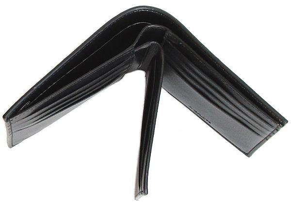 コーチ メンズ 二つ折り財布F73117黒 差し込み
