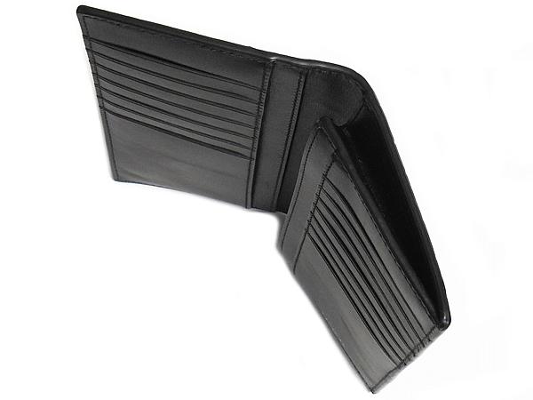 コーチ メンズ長財布F73134黒 スリットポケット