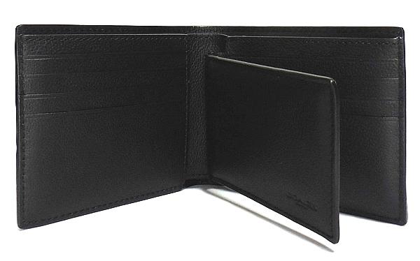 コーチ F73629黒 IDケースと二つ折り財布 内装