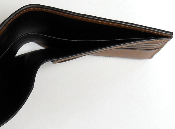 コーチ メンズ 二つ折り財布F75170茶色 札入れ