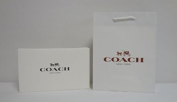 コーチ アウトレット 2015ギフトBOXと紙袋