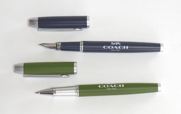 コーチ 付録 万年筆とボールペン
