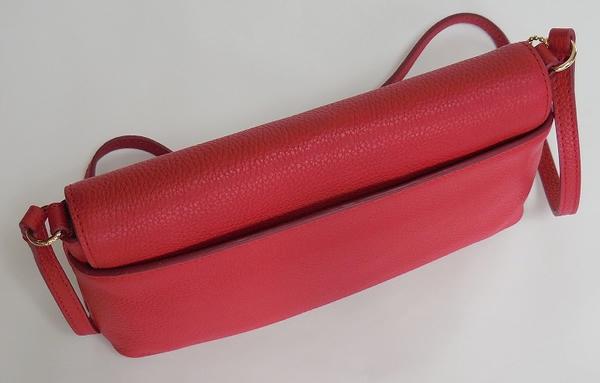 コーチ 斜めがけバッグF52896赤 背面