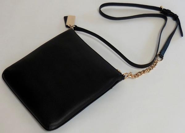 コーチ 斜めがけバッグ36501黒 背面