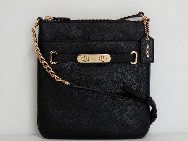コーチ 斜めがけバッグ36501黒