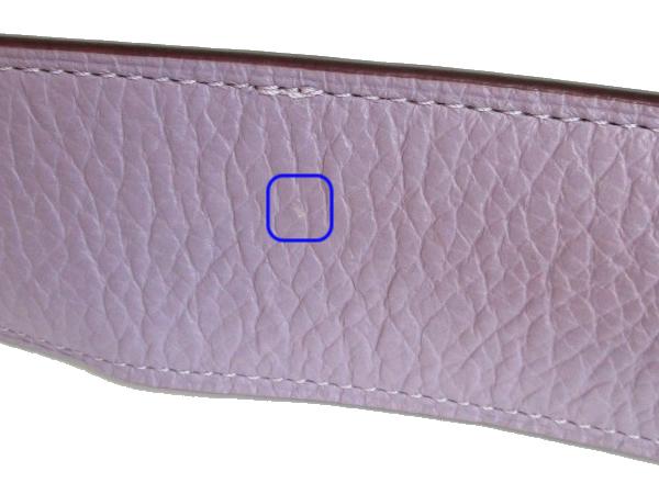 コーチ ショルダーバッグF76695薄紫 ハガレ