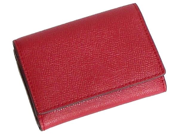 コーチ スモール財布39737赤 背面