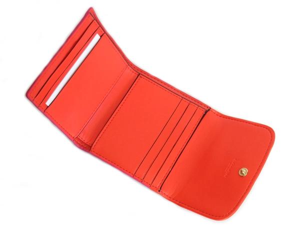 コーチ コンパクト財布F11824ベージュ カードポケット