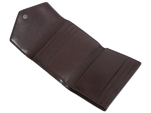 コーチ 三つ折り財布F22899グレー カード入れ