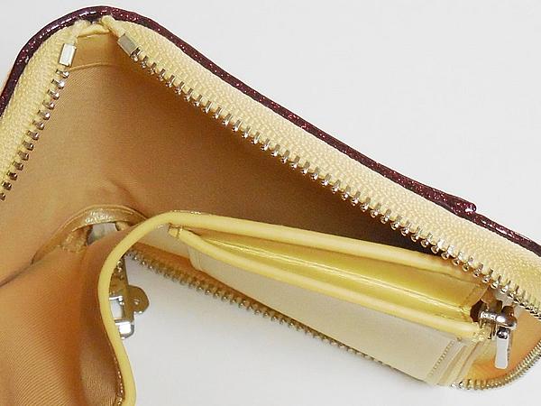 コーチ ジップスモール財布F30183黄色花柄 札入れ