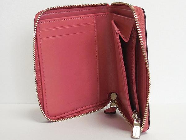 コーチ スモール財布F32147フルーツ白ピンク 小銭入れ