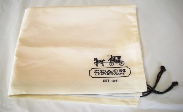 コーチ レディースバッグ 保存袋 ベージュ